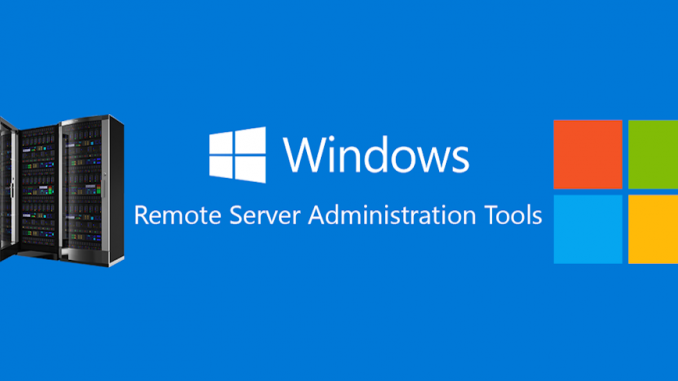 Install RSAT (Remote Server Administration Tools) to Windows